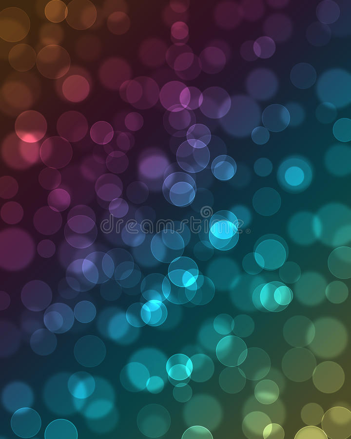 Artistic bokeh background. With space for text