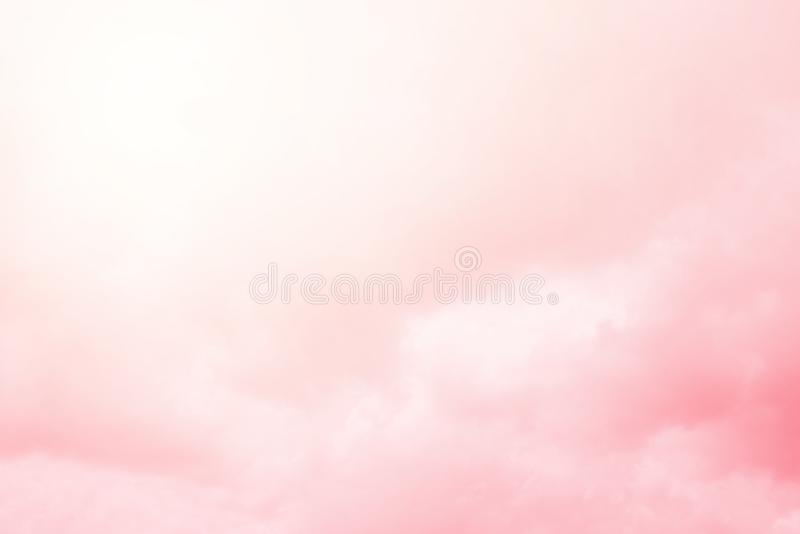 Artistic cloudy sky with pastel gradient, abstract background. Artistic cloudy sky with pastel gradient, nature abstract background stock photography