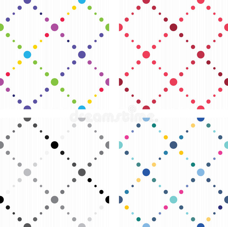 Download Artistic Colored Seamless Textures Stock Vector - Illustration of illustration, group: 26003684
