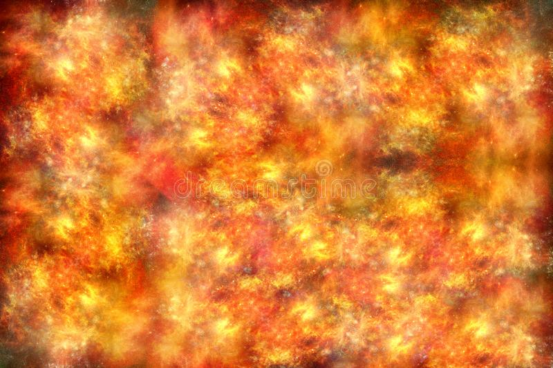 Artistic multicolored unique soft smooth fiery artwork background royalty free stock photo