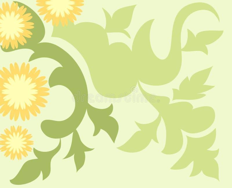 Download Artistic design stock illustration. Image of spiral, leaves - 2265926
