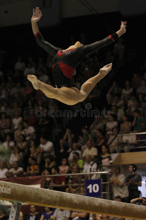 Download Artistic Gymnastics editorial photo. Image of catalina - 33607521