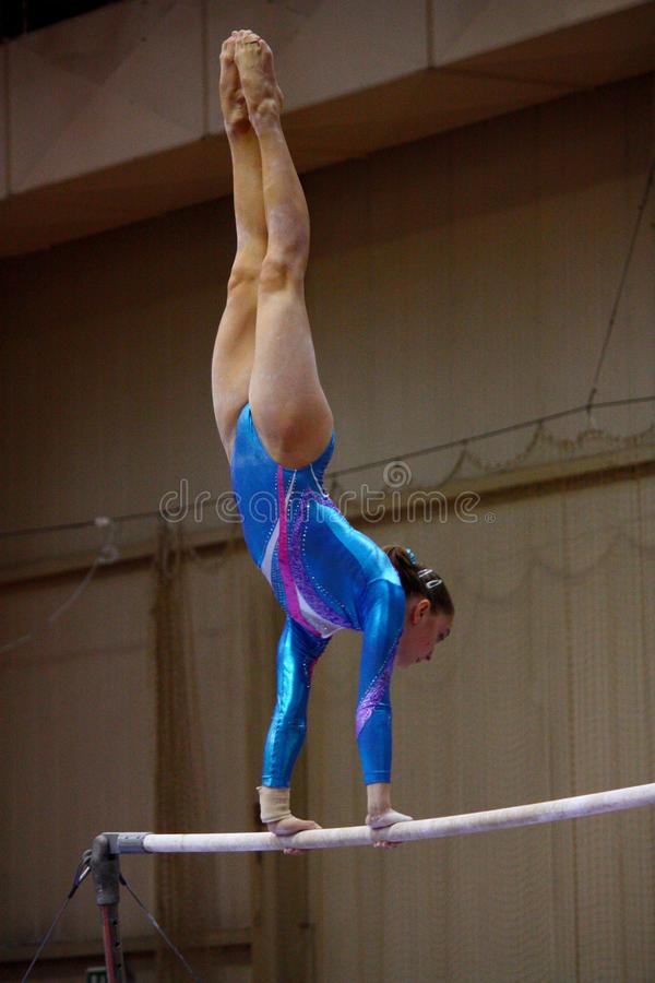 Free Artistic Gymnastics International Competition Royalty Free Stock Images - 16334879