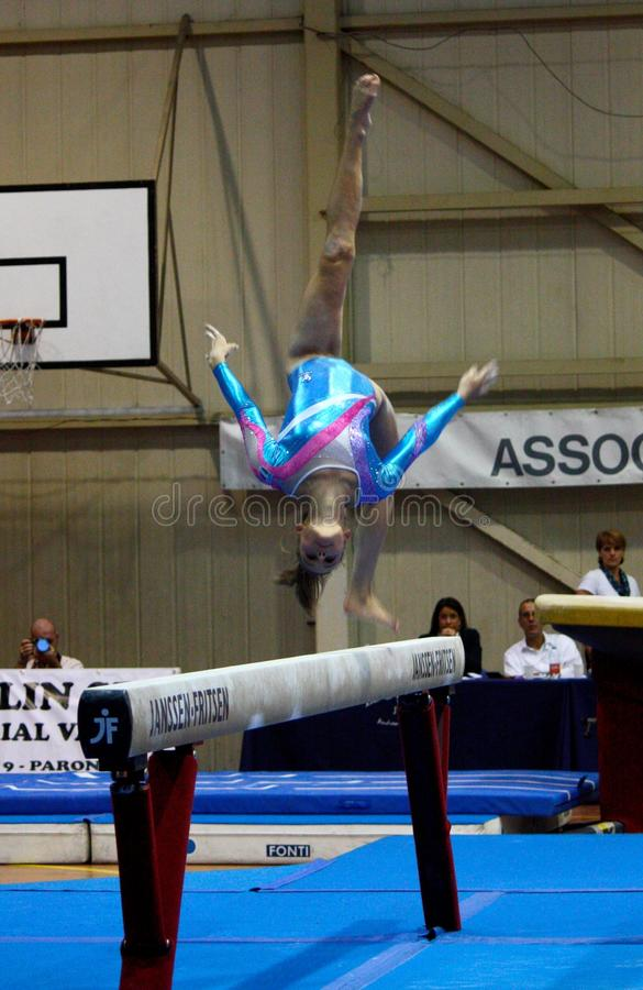 Free Artistic Gymnastics International Competition Royalty Free Stock Photography - 16334917