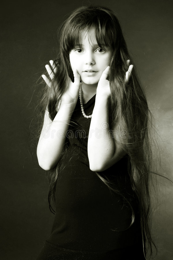 Download Artistic Image Of Girl Royalty Free Stock Photo - Image: 5999565