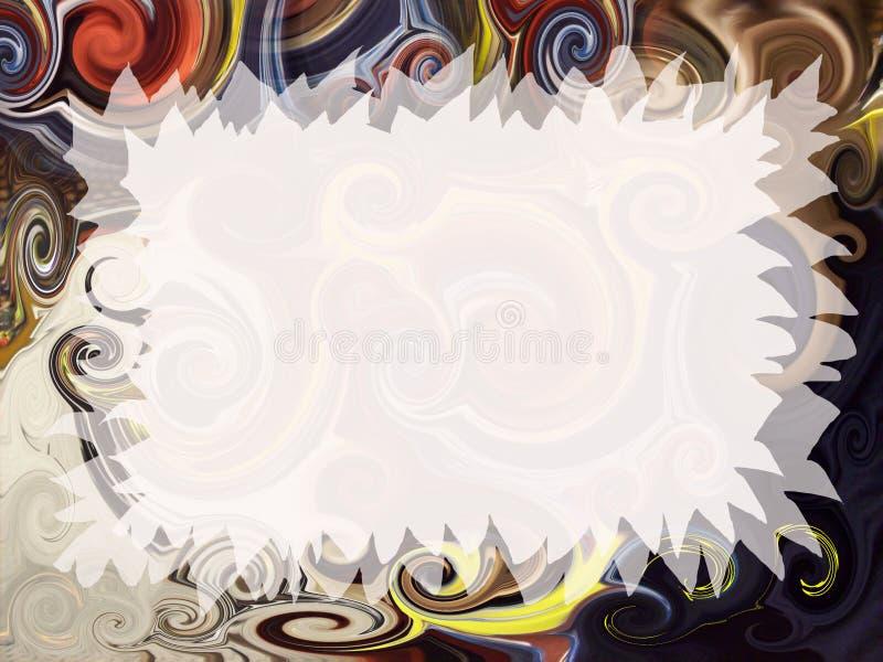 Artistic Invitation Stock Image