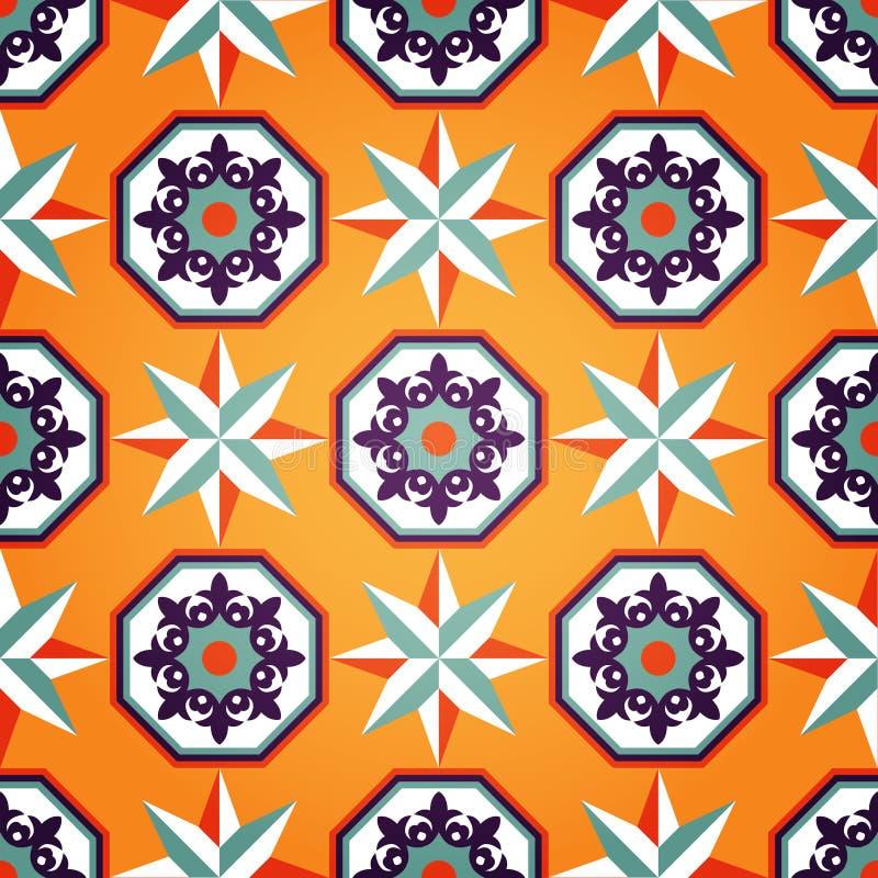 Download Artistic Orange Seamless Pattern Stock Vector - Image: 19069354