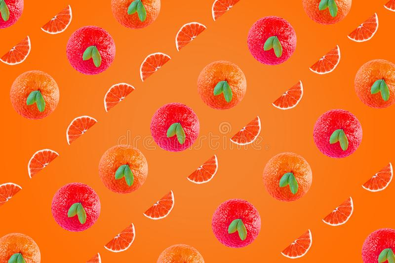 Artistic oranges background for advertising design and more I hope you like pod art. royalty free stock photography
