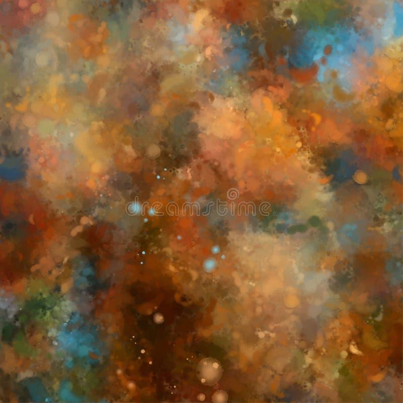 Artistic Painting Background stock illustration