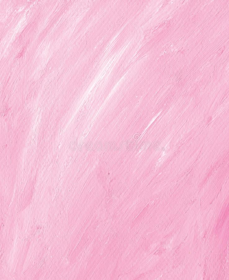 Artistic pink acrylic background. Hand made royalty free stock photography