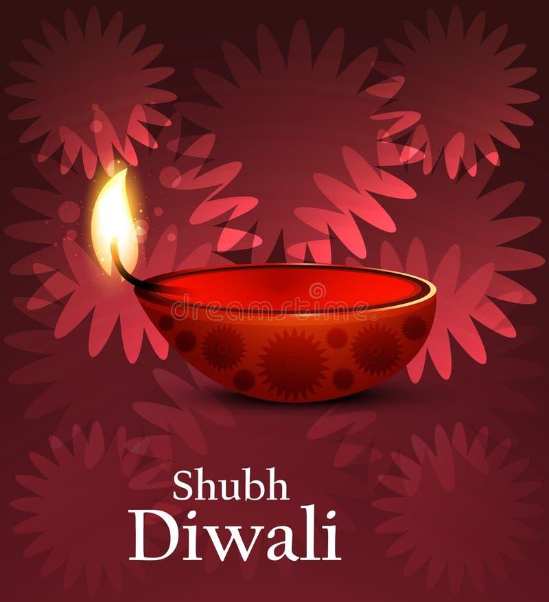 Artistic religious colorful diwali festival vector illustration