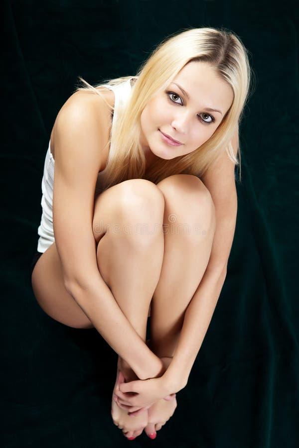 Artistic shot a beautiful woman. stock photography
