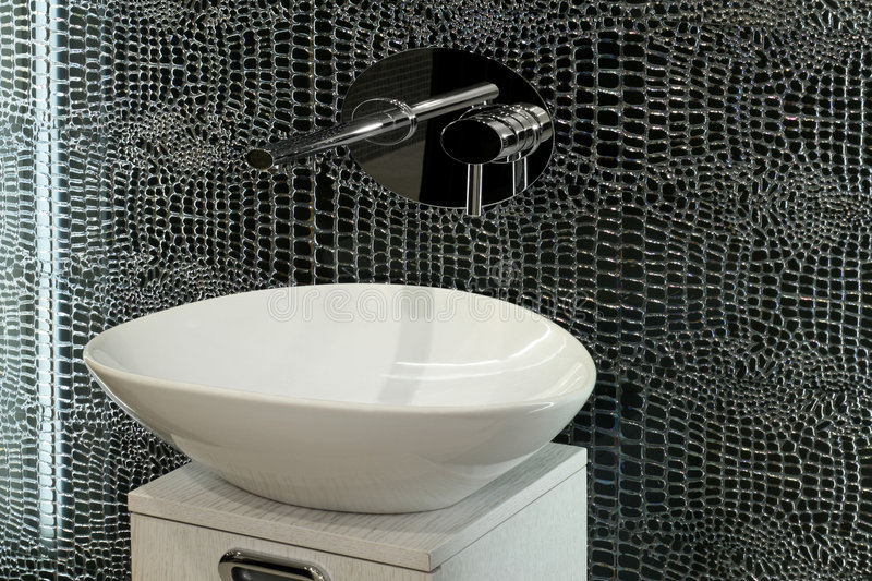 Artistic sink royalty free stock photos