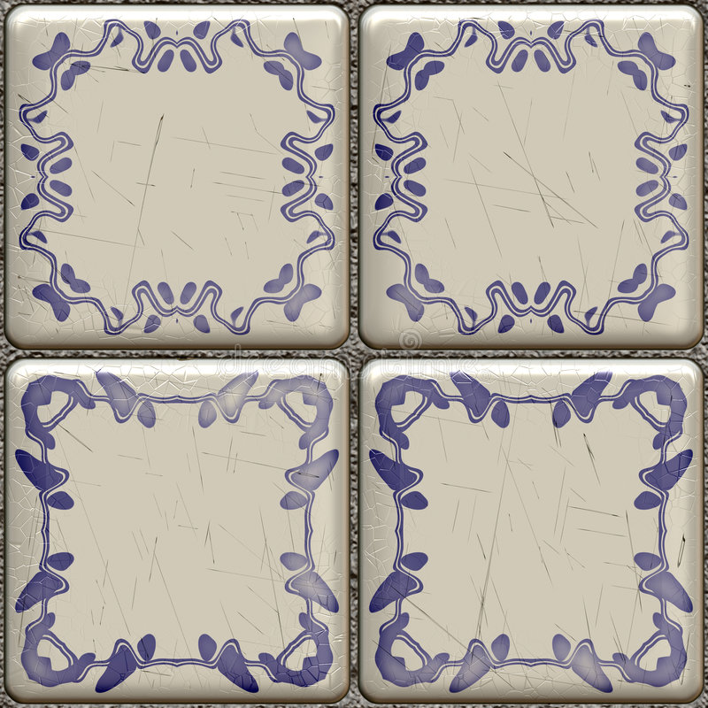 Artistic Tile Royalty Free Stock Photos