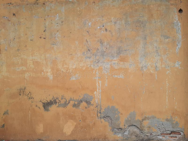 Artistic Vintage Abandoned House Wall royalty free stock photos