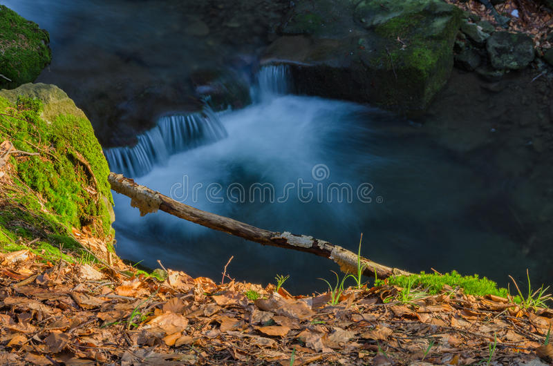 Artistic waterfall royalty free stock photography