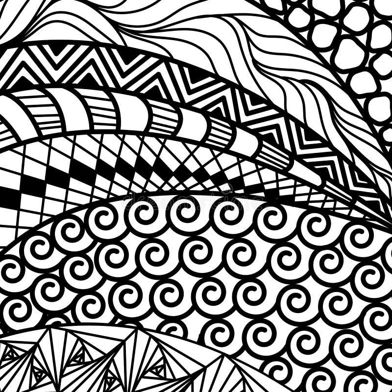 Artistically etnisk modell vektor illustrationer