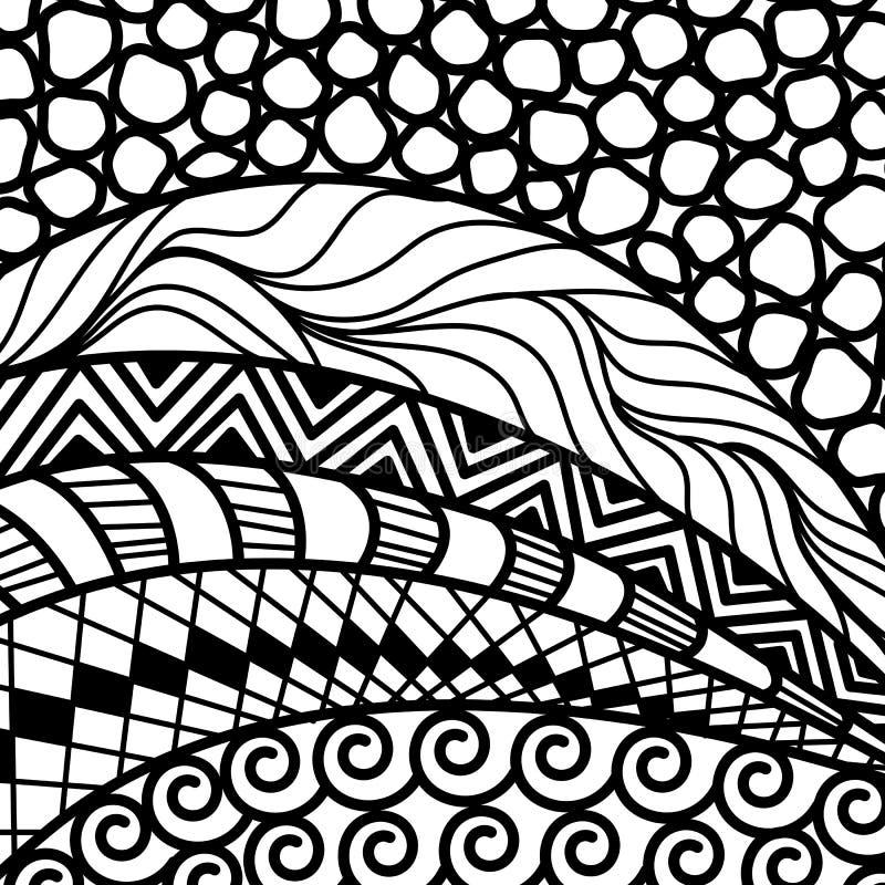 Artistically etnisk modell royaltyfri illustrationer