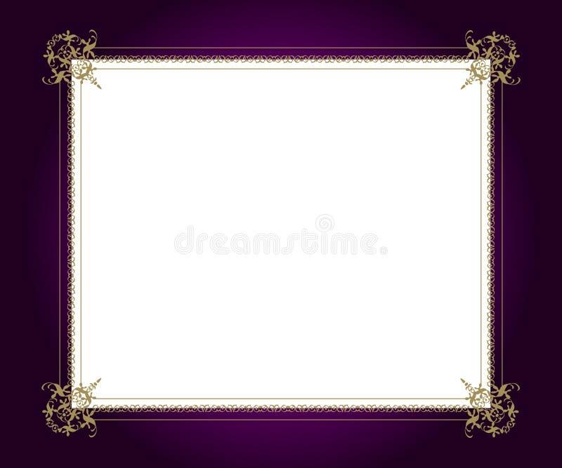 Artistiek frame vector illustratie