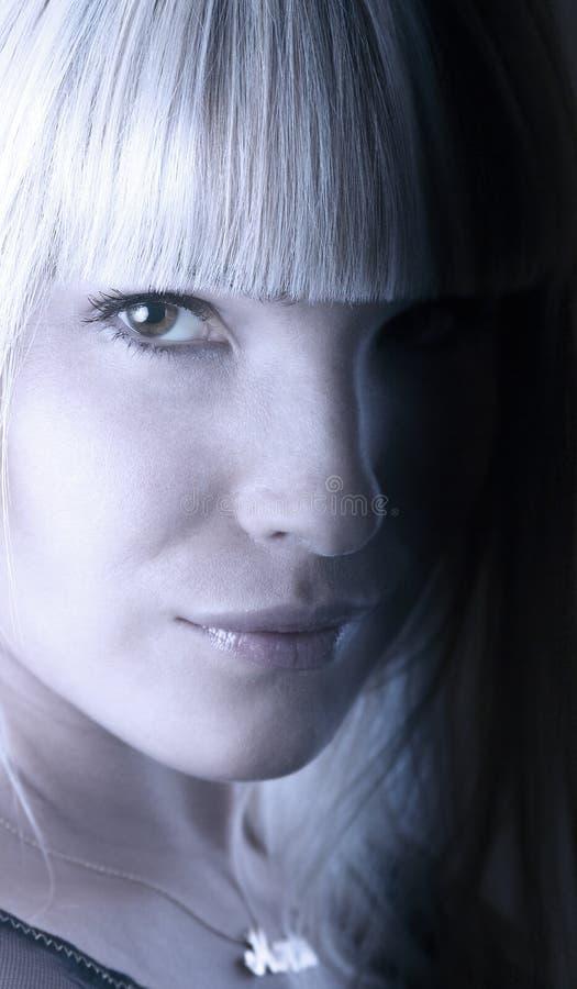 Artistiek portret stock fotografie