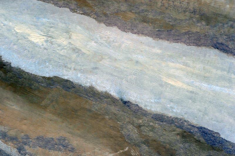 Artistieke achtergrond van pastelkleuren op de muur van verschillende kleurencombinaties Abstractie stock afbeelding