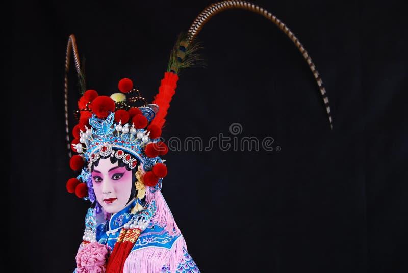 Artistieke Charmes van de Opera van Peking royalty-vrije stock fotografie
