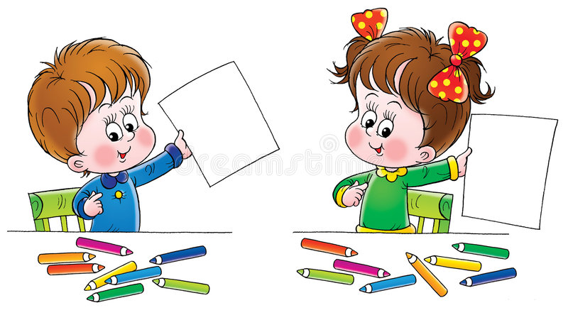 Download Artists stock illustration. Illustration of drawn, character - 2979569