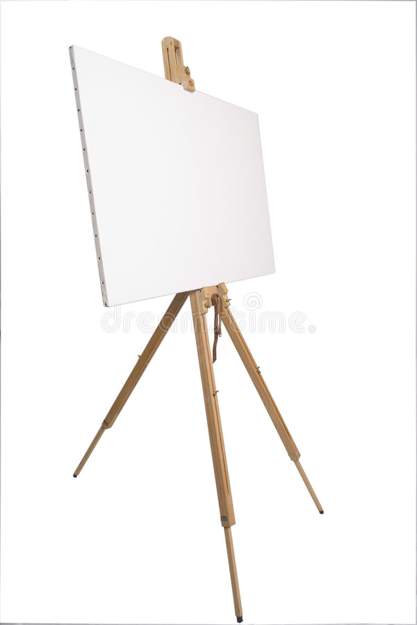 Download Artists easel stock photo. Image of board, teacher, wooden - 170856