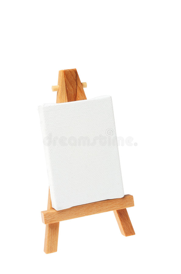 Download Artists easel stock photo. Image of empty, wood, stand - 7731036