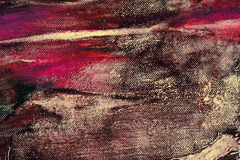Artists oil paints multicolored closeup abstract background. Closeup macro royalty free stock images