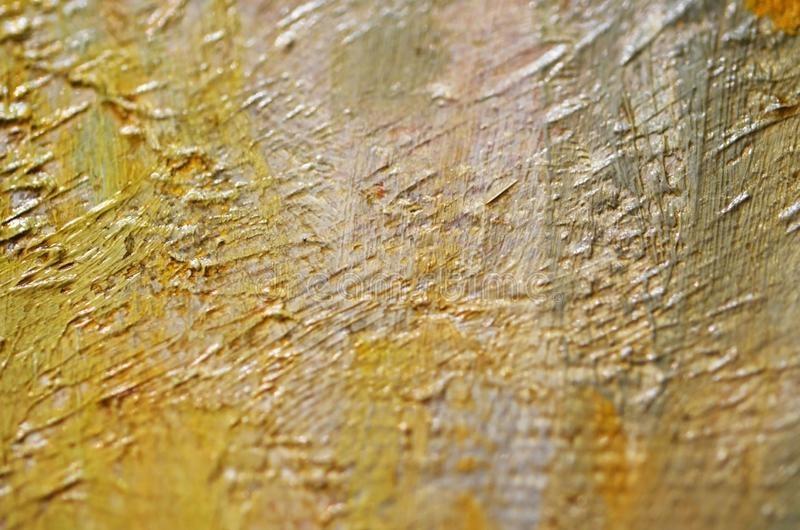 Artists oil paints multicolored closeup abstract background. Soft focus. Image stock images