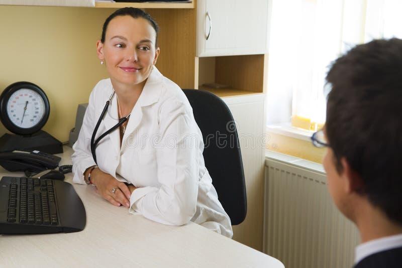Arts & Patiënt stock foto