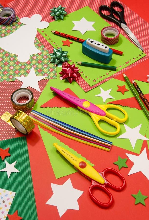 Craft Supplies Christmas Part - 25: Download Arts And Craft Supplies For Christmas. Stock Photo - Image:  63575143