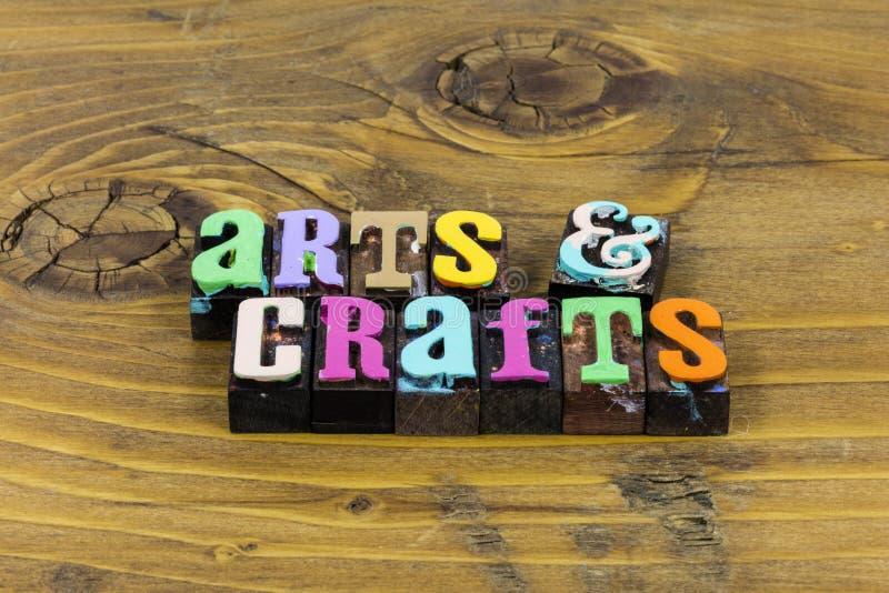 Arts Crafts Craftsmanship Antiques Create Handmade Art Artist Project Stock Image Image Of Type Message 163219697