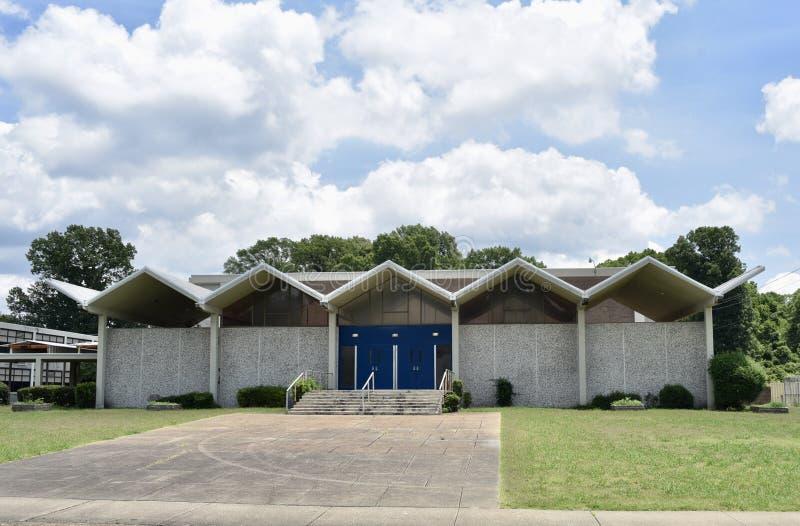 Arts du spectacle élevés d'Overton école, Memphis, TN images libres de droits