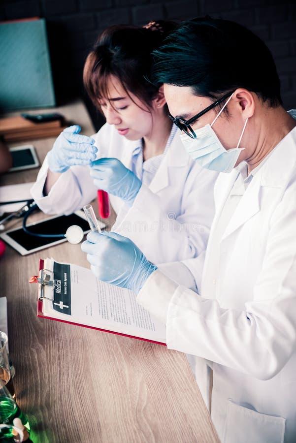 Arts en Wetenschapper stock foto