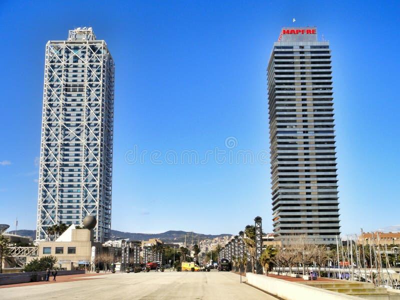 Download Arts Et Torre Mapfre D'hôtel Image stock éditorial - Image du cityscape, district: 56487099