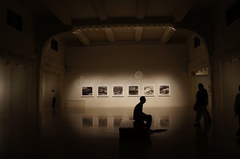 Arts exhibition stock image