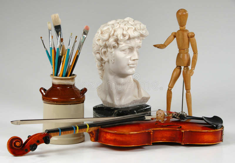 The Arts Together royalty free stock photo