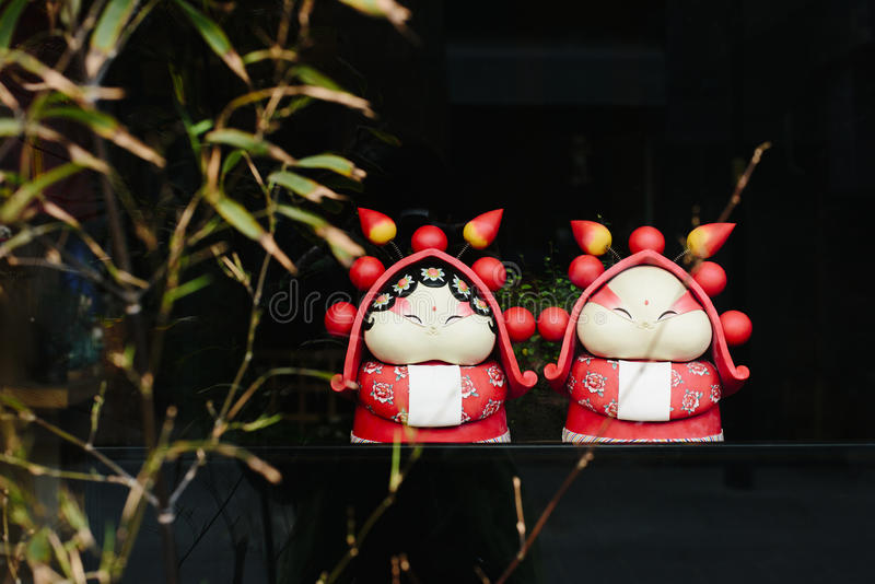 Arts traditionnels et métiers chinois photographie stock
