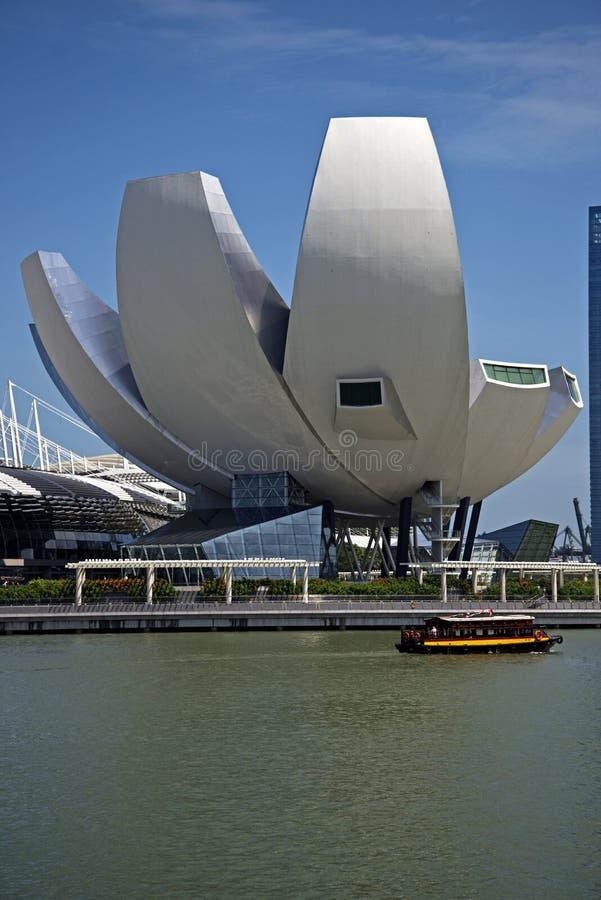 ArtScience-Museum, Singapur stockfotos