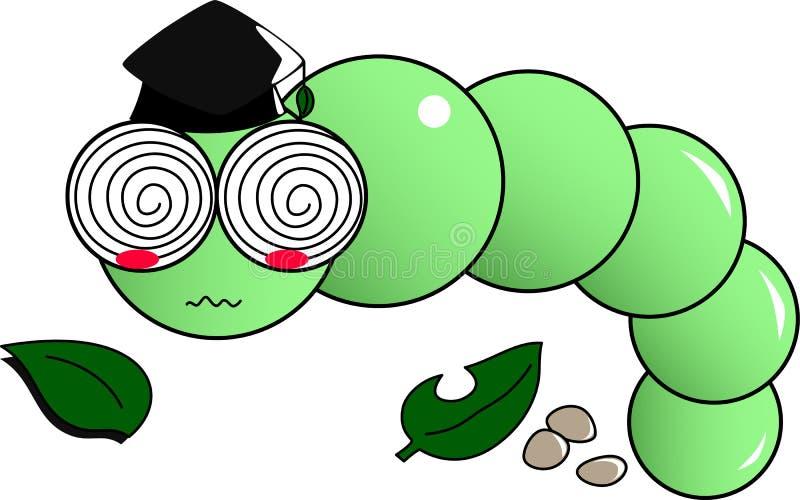 Artsenworm vector illustratie