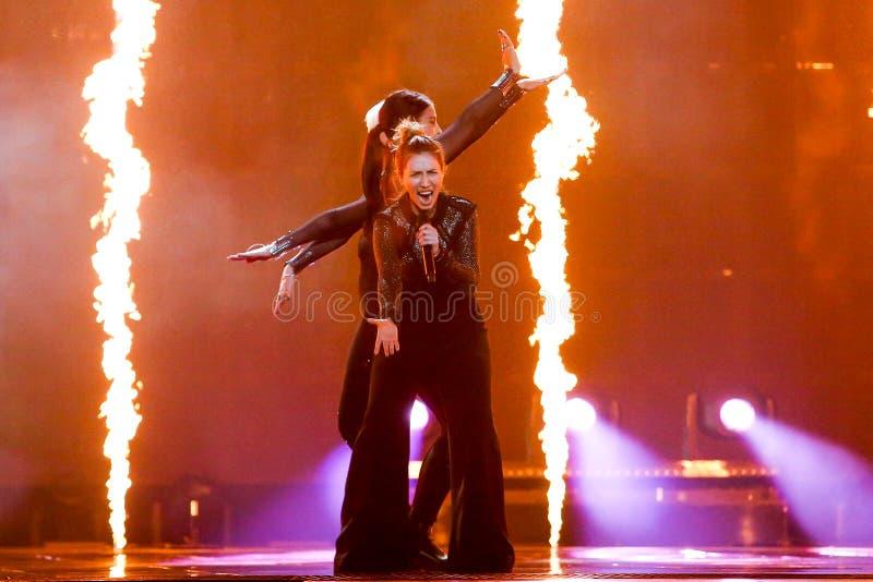 Artsvik from Armenia Eurovision 2017 royalty free stock image
