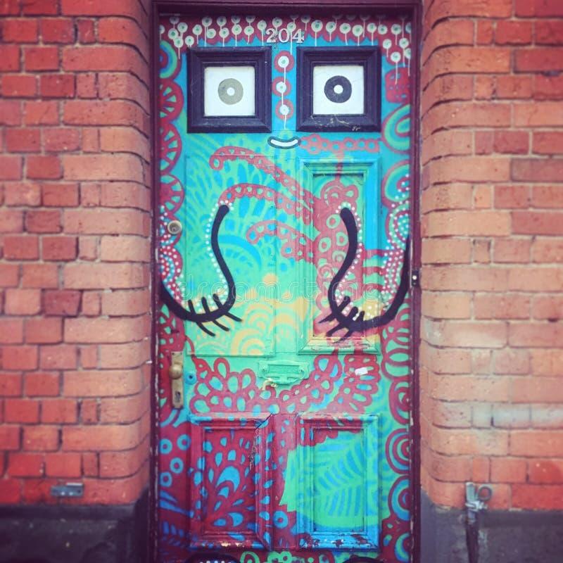 Artsy drzwi obrazy stock