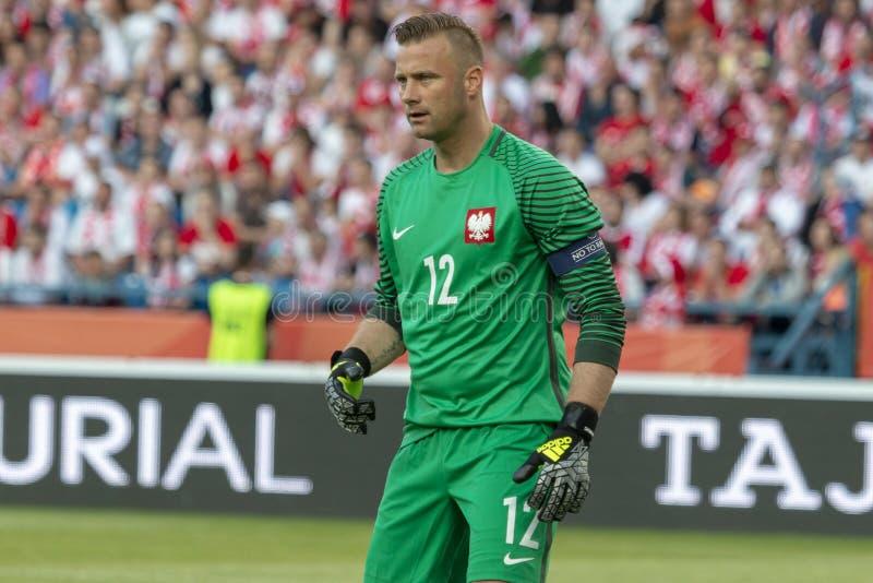 Artur Boruc Goalkeeper royalty free stock image