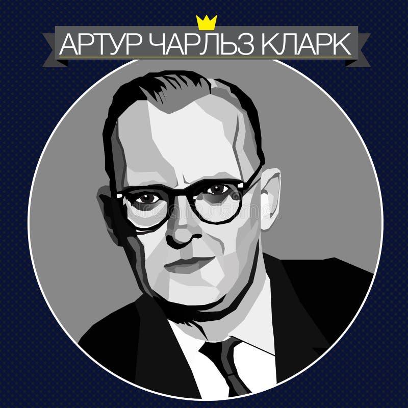Artur Charles Klark stockfotos
