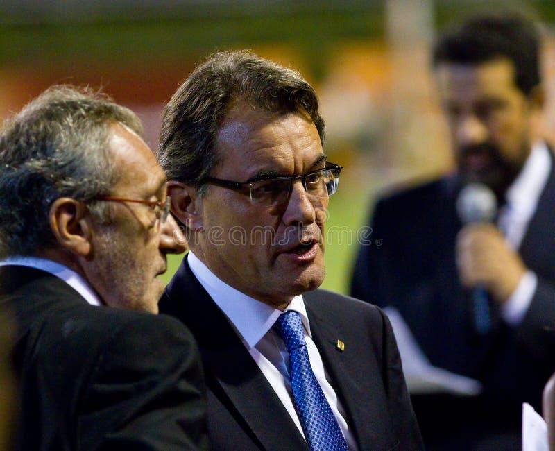Artur Mas imagenes de archivo