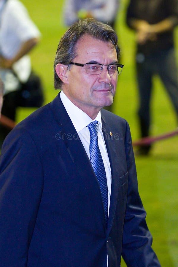 Artur Mas fotos de archivo libres de regalías