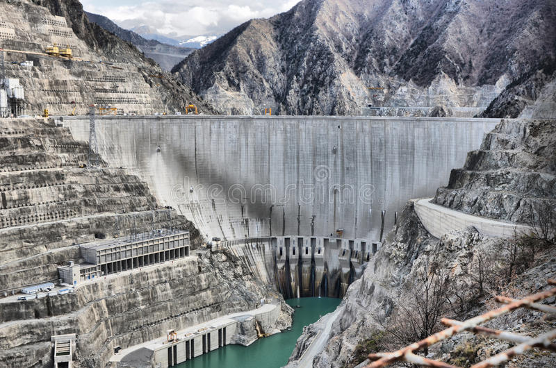 Artvin profond de barrage de la Turquie photos stock