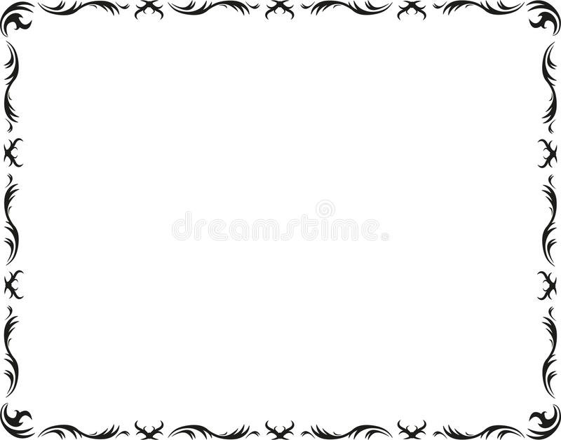 Download Artwork classic frame stock vector. Image of graphic - 22443259